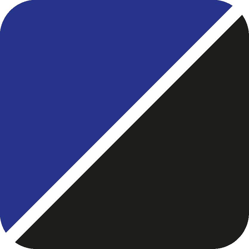blau-schwarz